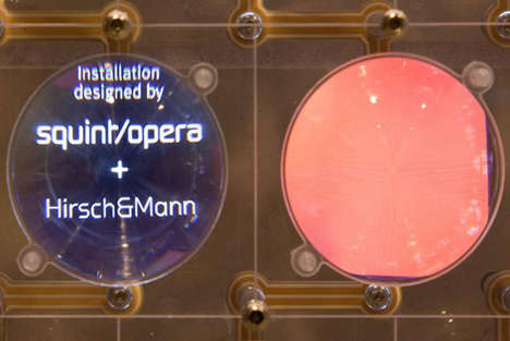 Macro Scientific Projection Magnifiers - These LCD Screens Project on Both a Big and Small Scale