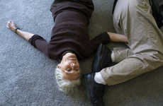 Elderly Love Triangle Photography - 'The Three' by Isadora Kosofsky Redefines Love in Old Age