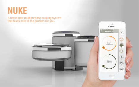 Integrated Concierge-Style Cookers - The NUKE Cooking System Does It All While Keeping You Safe