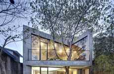 Futuristic Oriental Tea Houses