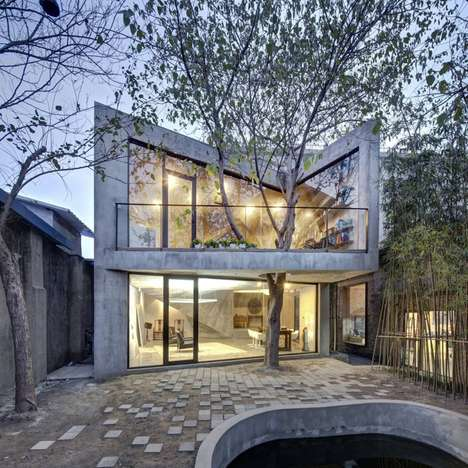 Futuristic Oriental Tea Houses - Archi-Union Architects Designed This Inspiring and Tranquil Space