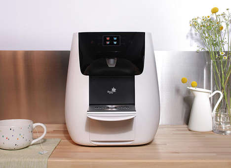 Filtrating Soda Water Machines - The Strauss Bubble Bar by New Deal Design is Sleek and Stylish