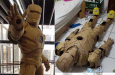 This Taiwanese Artist Creates Elaborate Sculptures Out of Cardboard