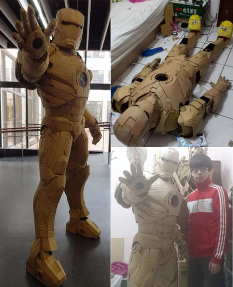 Customized Cardboard Replicas - This Taiwanese Artist Creates Elaborate Sculptures Out of Cardboard