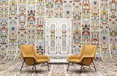 Psychedelically Retro Wallpaper - Studio Job's New Retro Wallpaper Designs are Vibrant and Fun