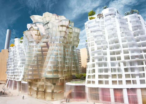 Futuristic Neighborhood Makeovers - The Battersea Power Station Project is an Architectural Feat