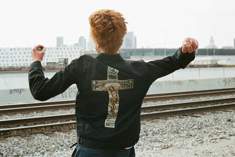 Edgy Punk Revival Apparel - The Supreme Lookbook Features the Dead Kennedys