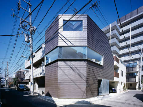 Galvanized Steel Abodes - The Cave Residence by Apollo Architects is Made from Tough Materials