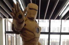 Kai-Xiang Xhong Created an Epic Cardboard Iron Man Suit