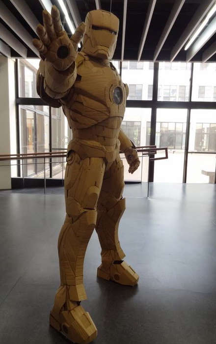 Low Budget Hero Costumes - Kai-Xiang Xhong Created an Epic Cardboard Iron Man Suit