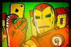 Butcher Billy's Latest Superhero Illustrations Include Selfies
