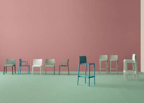Vibrant Vintage Furniture Designs - This Collection of Chairs and Sofas is Colorful and Functional
