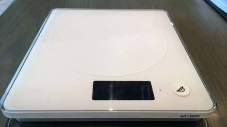 Nutrition-Calculating Food Scales - The SITU Smart Scale Calculates the Nutritional Value of Food