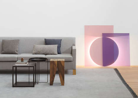 Whimsical Geometric Lighting - This Modern Colorful Lighting Collection by e15 is Stunning