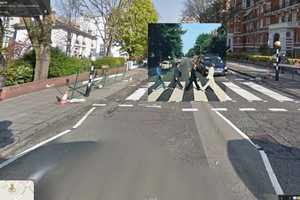 Classic Music Gets a Google Street View Album Cover Makeover