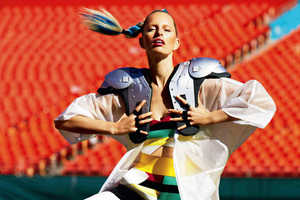 Karolina Kurkova Stars in the Vogue Mexico April 2014 issue