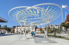 Message-Recording Public Pavilions - Idea Tree by Lifethings Lets Passersby Voice Their Concepts