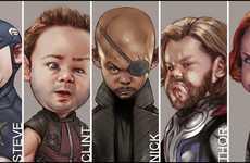 Superhero Baby Makeovers