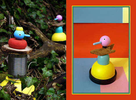 Cheerful 3D Toy Art - Ed Cheverton