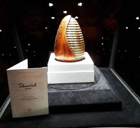 Extravagant Edible Easter Eggs - Shawish Unveiled the World's Most Expensive Chocolate Easter Egg