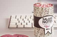 These Salami Notes from DOIY Design are Hilarious and Look Delicious