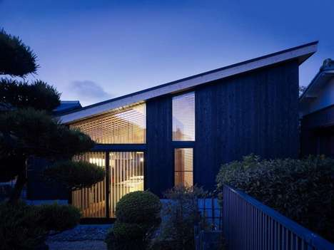 Sleek Traditional Homes - This Home by MDS Brings the Tranquility of Japan to Your Living Space