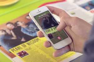 The Peekster App Converts Paper News to Digital News