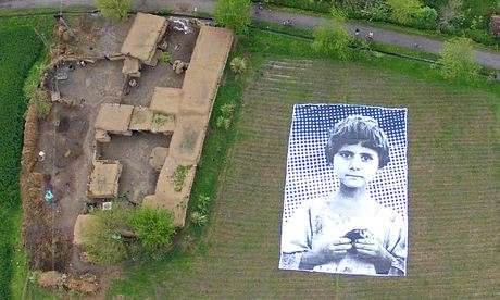 Gigantic Child Victim Portraits - The #NotABugSplat Poster is a Reminder of Drone Strike Casualties