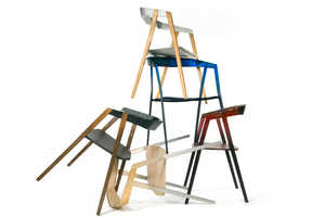 These Cartesian Metal Chairs Push Structural & Material Limits