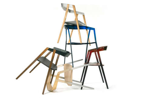 Cartesian-Constructed Chairs - This Simple Chair