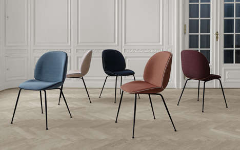Contemporary Baroque Furniture - This New Collection from Gubi is Perfect for the Office