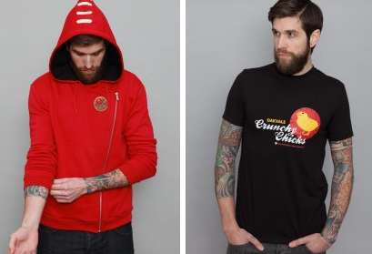 Stylish Gamer Streetwear - Insert Coin is a Casual Fashion Brand That Favors Gamer Graphics