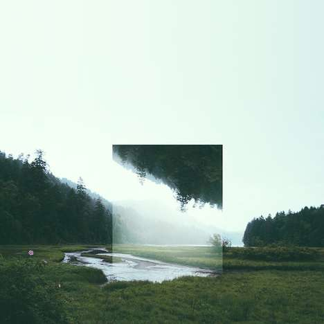 Layered Geometric Landscapes - Graphic Designer Victoria Siemer Captures Angular Scenes