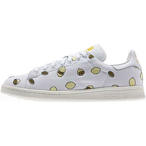 Citrus-Printed Sneakers - The Adidas Originals Stan Smith Sneakers Released a 'Lemon' Shoe