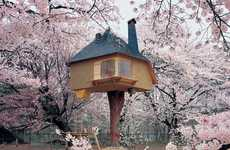 Enter a Realm of Fantasy with the Cherry Blossom Tea House