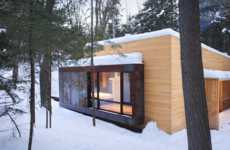 Environmentally-Embedded Abodes - The yh2 La Luge Home is Set Directly in Nature
