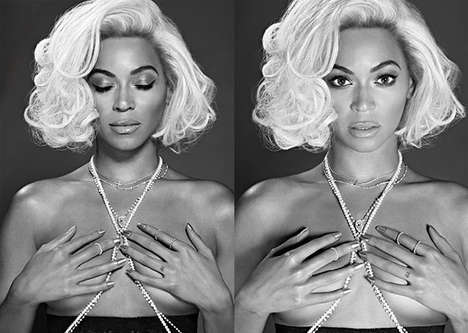 Self-Assured Diva Editorials - Beyoncé Bares All in the Out Magazine May 2014 Issue