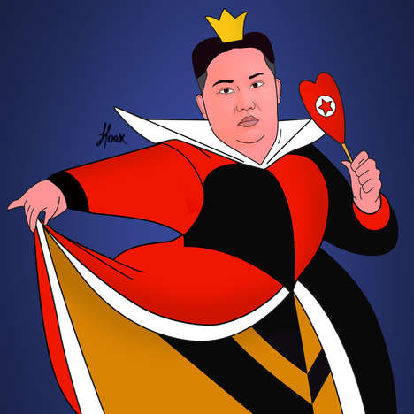 Dastardly Political Cartoons - PoliVillains by Saint Hoax Turns Politicians into Disney