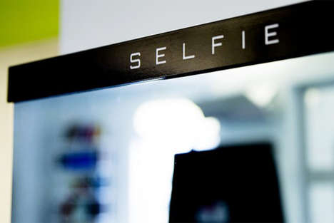 Photo-Snapping Mirrors - The Selfie Mirror by iStrategyLabs Snaps Pics and Puts Them on Twitter