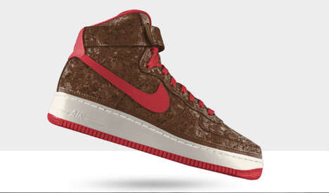 Cork-Based Sports Shoes - The Nike Cork Air Force 1s are an Eco-Friendly Alternative