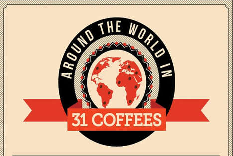 World Travel Coffee Charts - CheapFlights Maps the Best Java in Different Locations