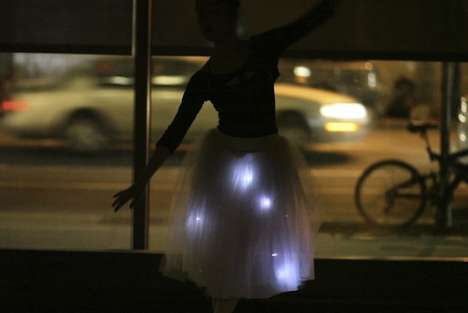 High-Tech Tutus - The Brooklyn Ballet is Experimenting with Motion-Sensing Clothing