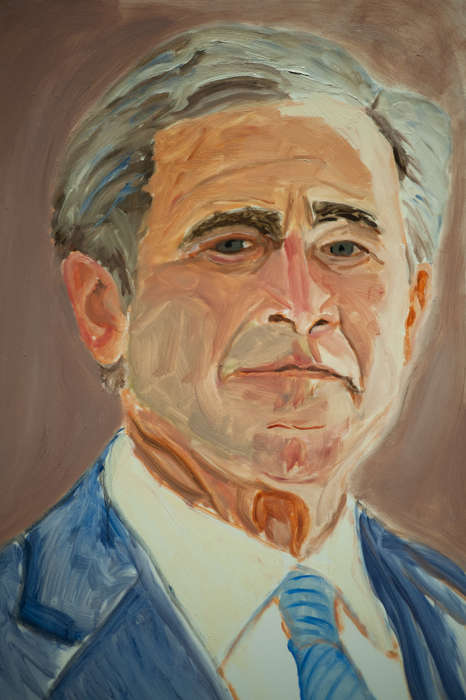 Ex-President Art Shows - The George Bush Paintings Reveal the Ex-President