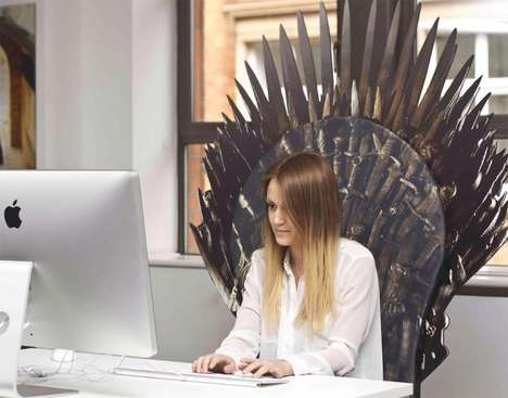 Makeshift Iron Thrones - This Fake Iron Throne Lets Anybody Feel Like a King