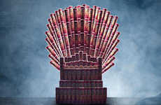 This Game of Thrones Iron Throne is a Real Treat