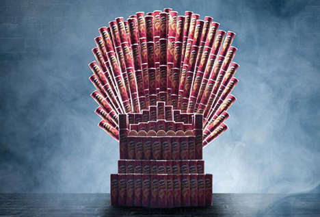 Edible Fantasy Thrones - This Game of Thrones Iron Throne is a Real Treat