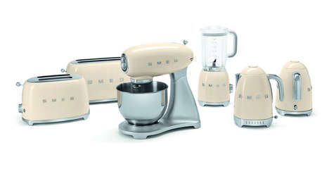 50s Vintage Kitchen Accessories - This New Range of Retro Kitchen Appliances is Stunning