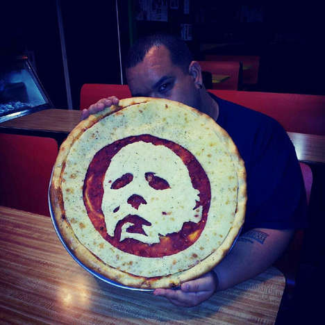 Villain Pizza Art - These Horror Pizza Portraits Pay Homage to Your Favorite Villains