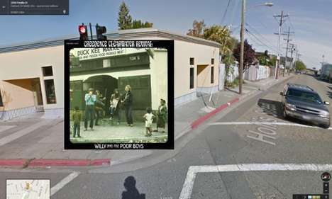 Search Engine Album Art - Halley Docherty Turns Google Street View into Art