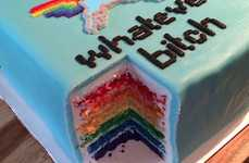 A Fondant Cake That Reads 'Whatever, B*tch' is Deliciously Hilarious